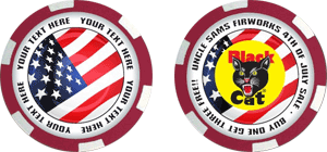 Poker chips template #102