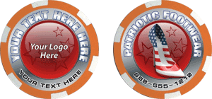 Poker chips template #107