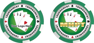 Poker chips template #112